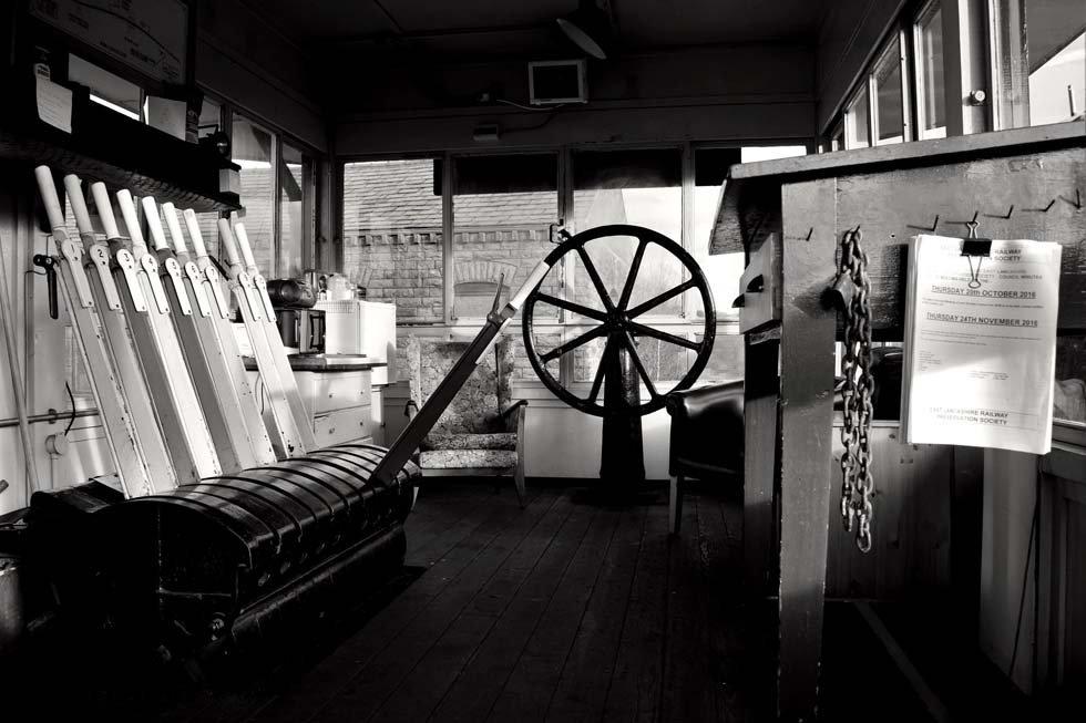 Black and White Signalbox - © Emma Seddon
