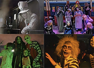 Raffle to win a Halloween ghost train ride for a family of four