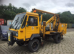 Operational road/rail multi-car donated