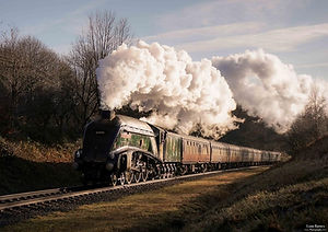 """60009 """"Union of South Africa"""" - © Liam Barnes"""