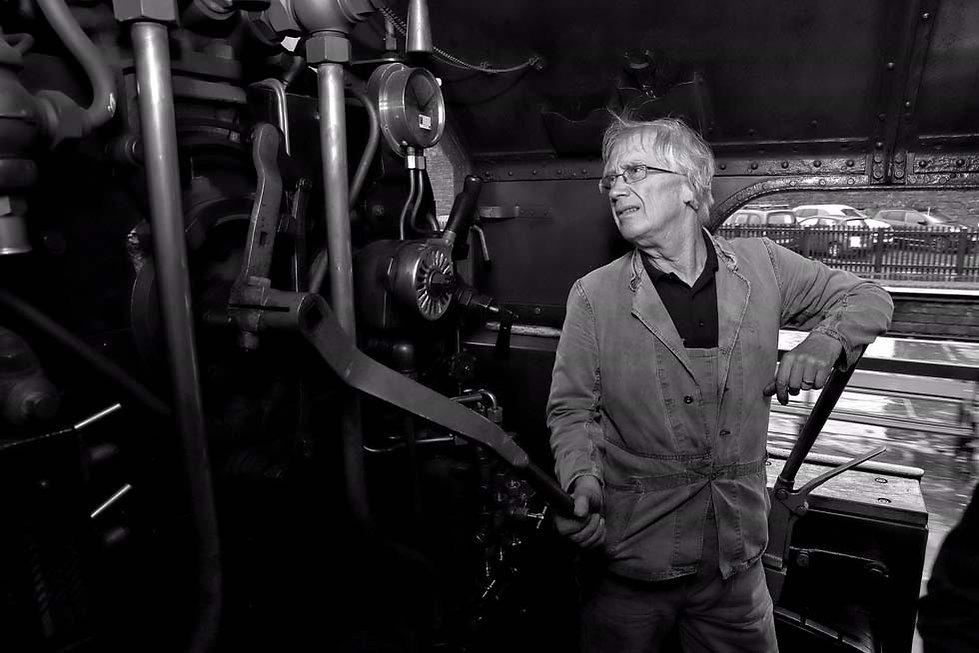 Driver Garry Laxton - © Rory Lushman