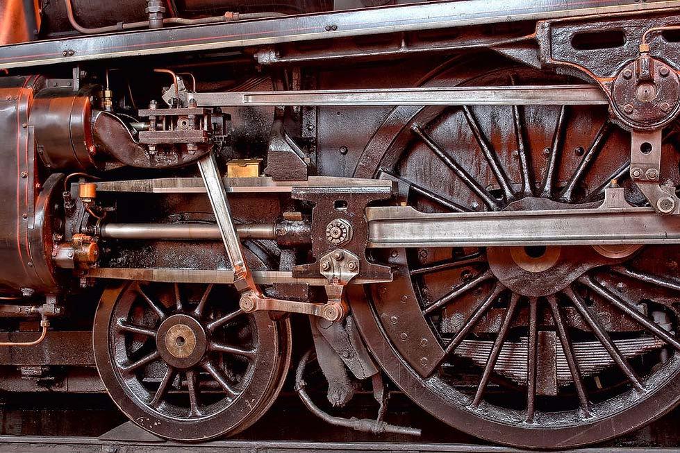 Black 5 44871 wheel detail - (c) Rory Lu
