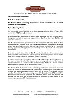 ELR planning reply letter