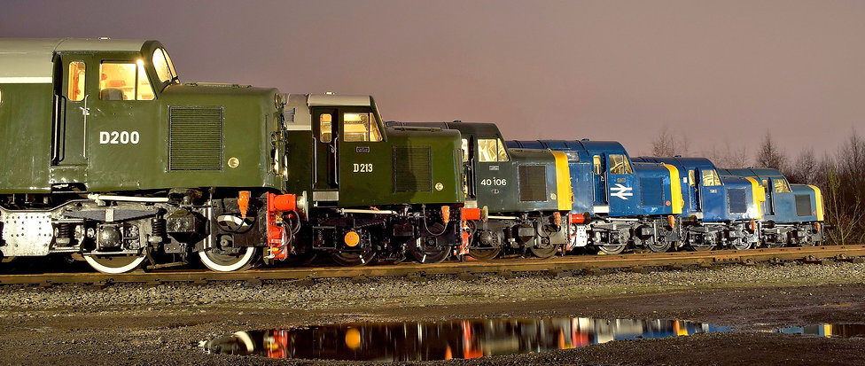 Diesel Locomotive Department – © Rory Lushman