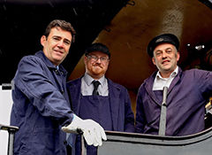 Andy Burnham visits the ELR - © Rory Lushman