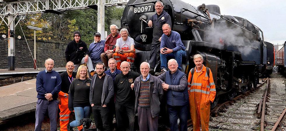 The 80097 restoration team