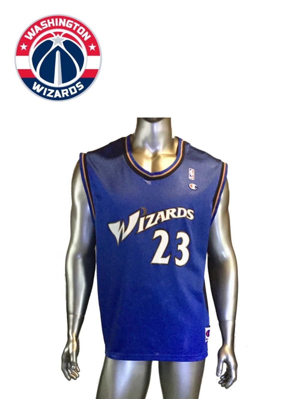 more photos a6c16 07295 Vintage Washington Wizards Michael Jordan #23, Champion NBA Jersey, Size 44    sinaitex