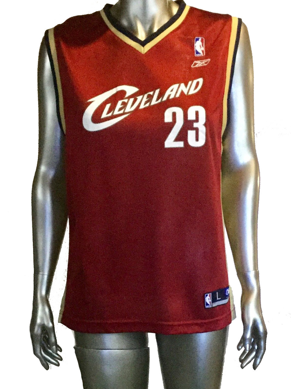 huge discount 11018 717ac Reebok Youth LeBron James Jersey Size Large 14-16 #23 Cleveland Cavaliers  NBA | sinaitex
