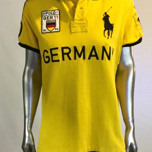 fd2a52bc8 ... new style vintagr ralph lauren short sleeve polo shirt black w white big  pony germany m