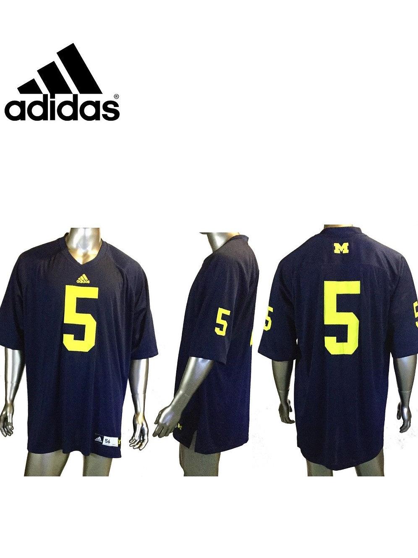 pretty nice b280a 2a465 Adidas Michigan Wolverines Football jersey, Mens 3XL, Blue, NCAA | sinaitex