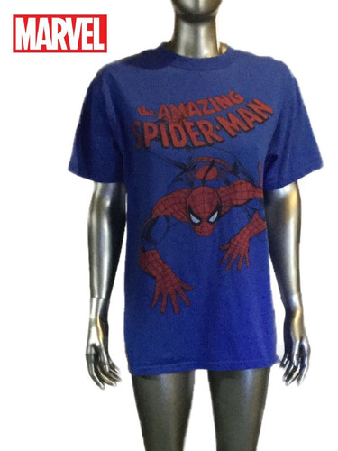 f937026b Vintage Marvel Amazing Spiderman 2010 XL Men's T Shirt blue