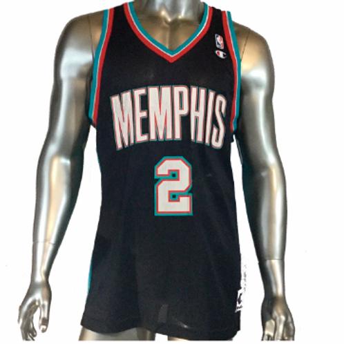 release date: 907bf 1b4eb Champion Jason Williams Memphis Grizzlies Jersey Sz. 48 L Large vtg |  sinaitex