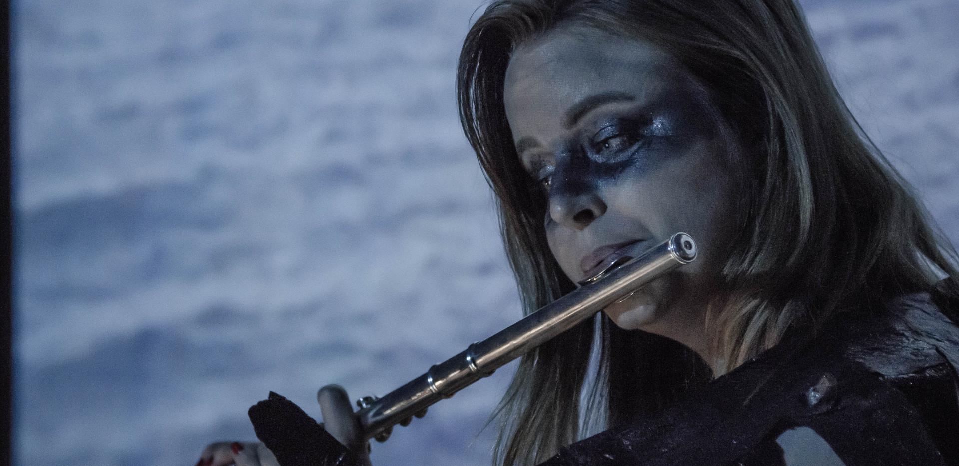Erin in performance