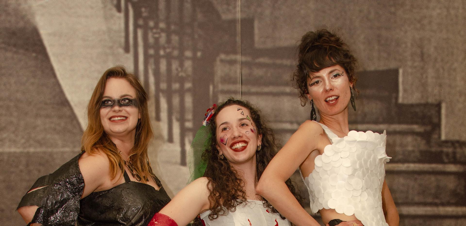 Erin, Rose, Asha in Costume