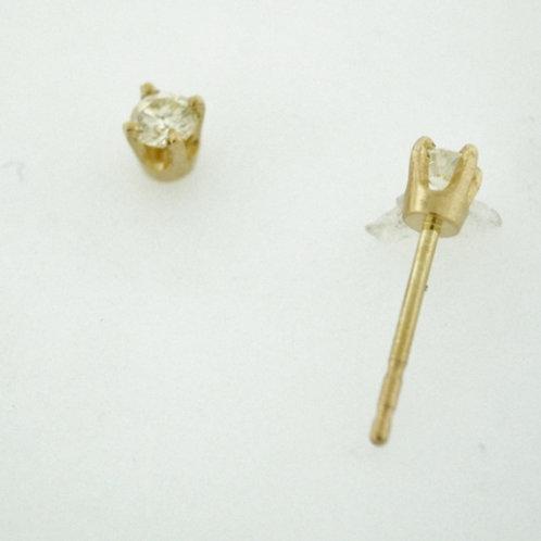 .15ct Round Brilliant-cut Diamond Studs