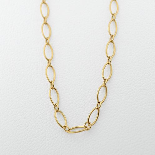 "18"" Genuine Tiffany Chain, in 18k Yellow Gold"