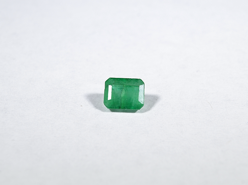 Emerald-Cut .56CT Emerald