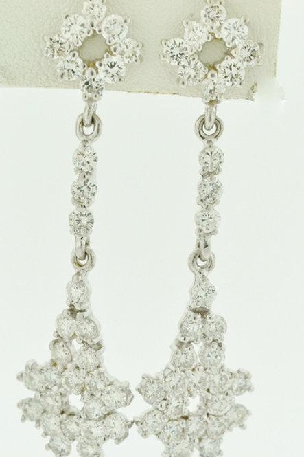 5ct Round Brilliant-cut Diamond Earrings