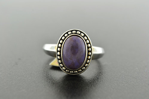 Jasper Ring, Set in Sterling Silver
