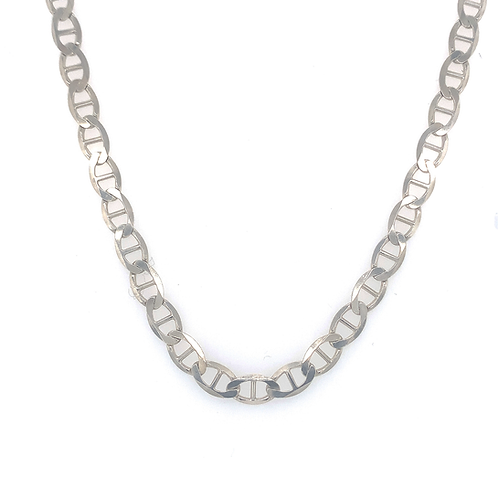"20"" Sterling Silver ""Gucci"" Link Chain"