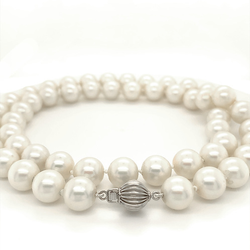 """22"""" Cultured Pearl Necklace"""