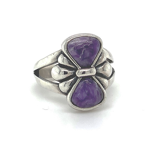Sterling Silver Sugilite Ring