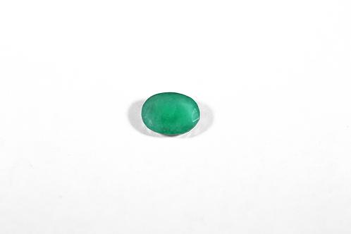 1.09CT Oval-Cut Emerald