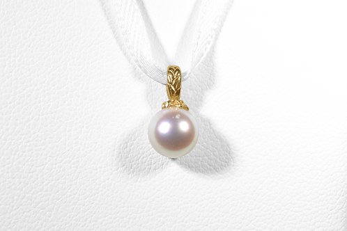 Pearl Pendant, in 14k Yellow Gold