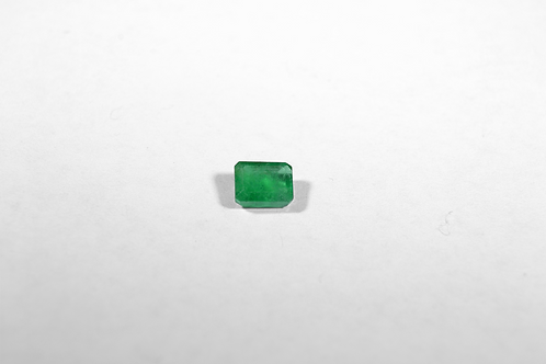 Emerald-Cut .81CT Emerald