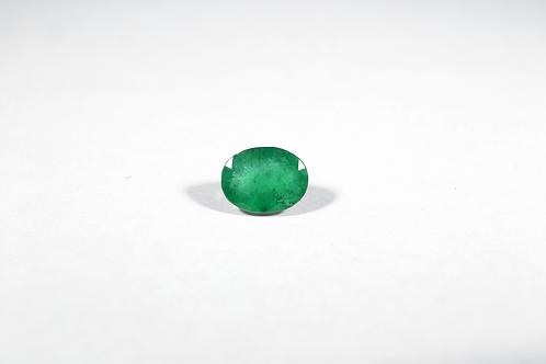 1.42CT Oval-Cut Emerald