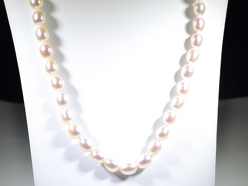 "18"" Freshwater Cream Pearl Necklace"