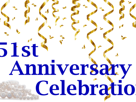 Celebrate our 51st Anniversary with us!