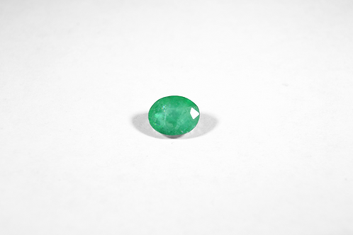 1.52CT Oval-Cut Emerald
