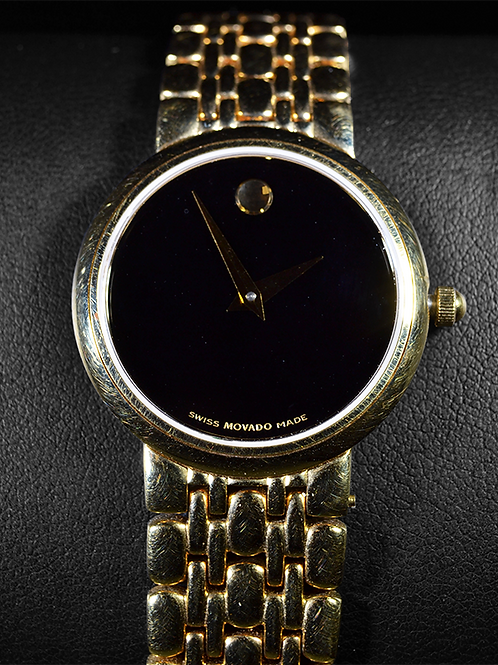 New Movado Gold Tone Stainless Steel Women's Watch