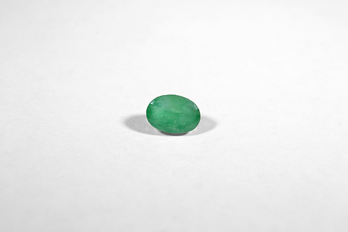 1.11CT Oval-Cut Emerald