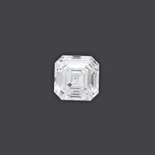 2.10ct Asher Cut Diamond Solitare
