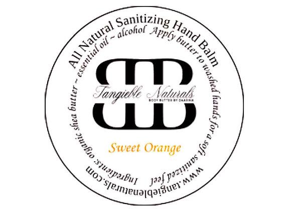 Sweet Orange All-Natural Hand Sanitizer