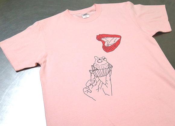 たぬきさんピンクTシャツ