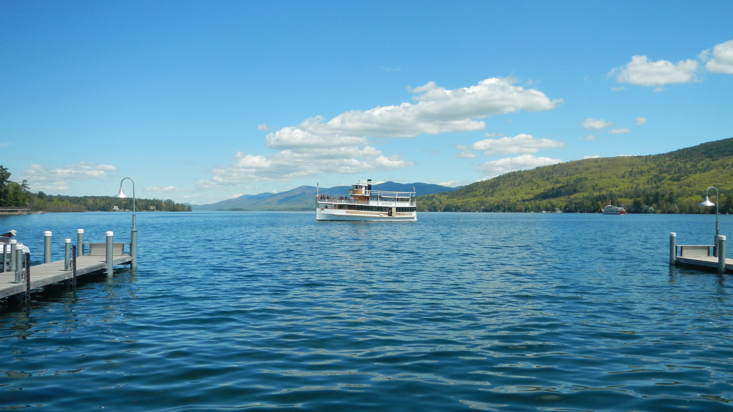 The Horican boat cruises on Lake George