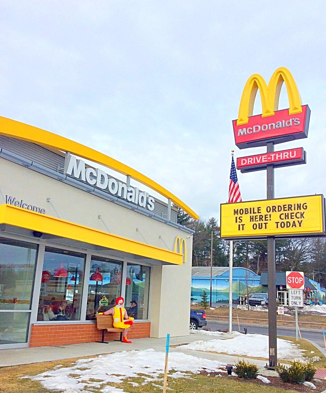 McDonald's in the Adirondacks