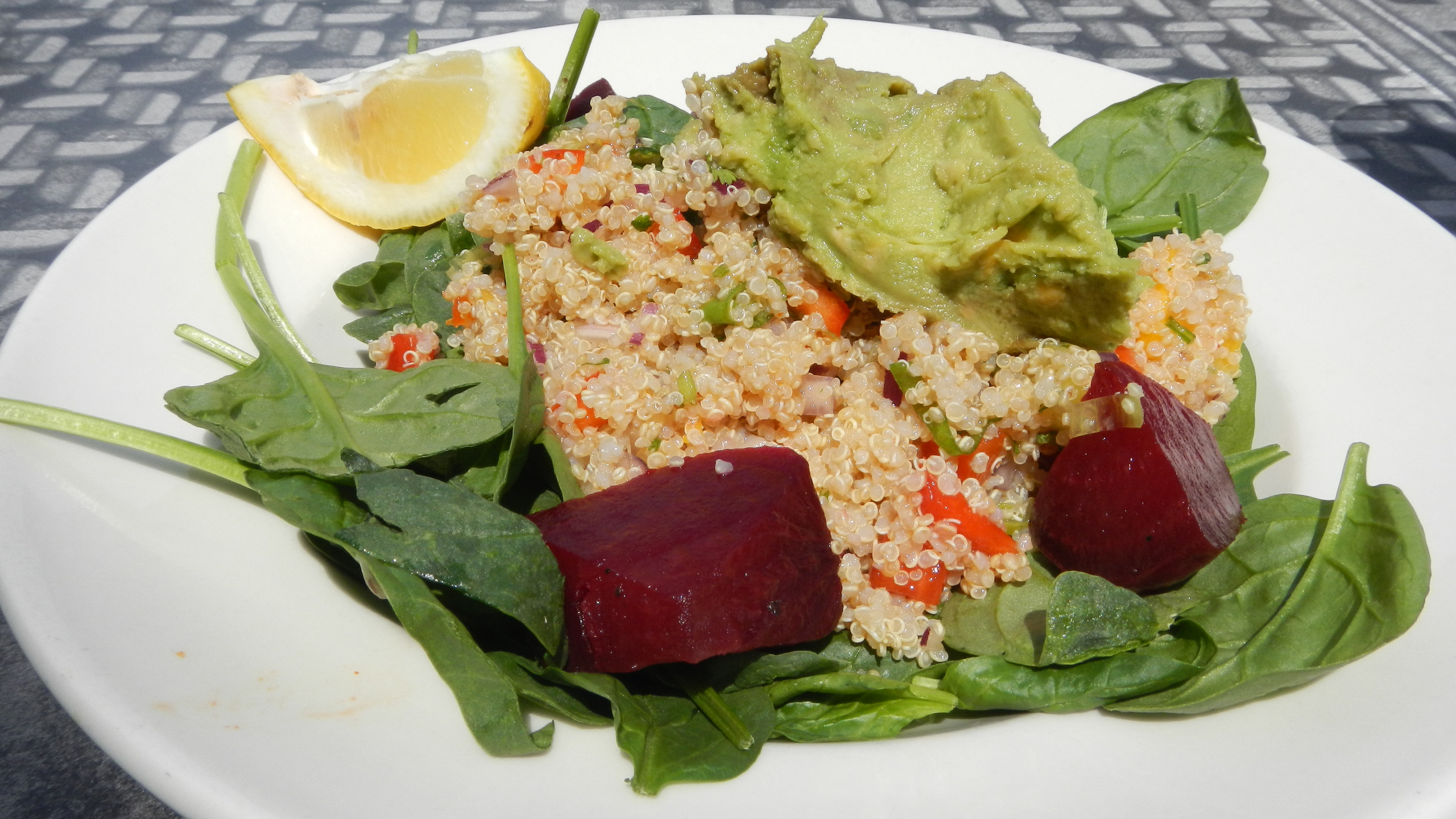 The Quinoa Salad at Scallions