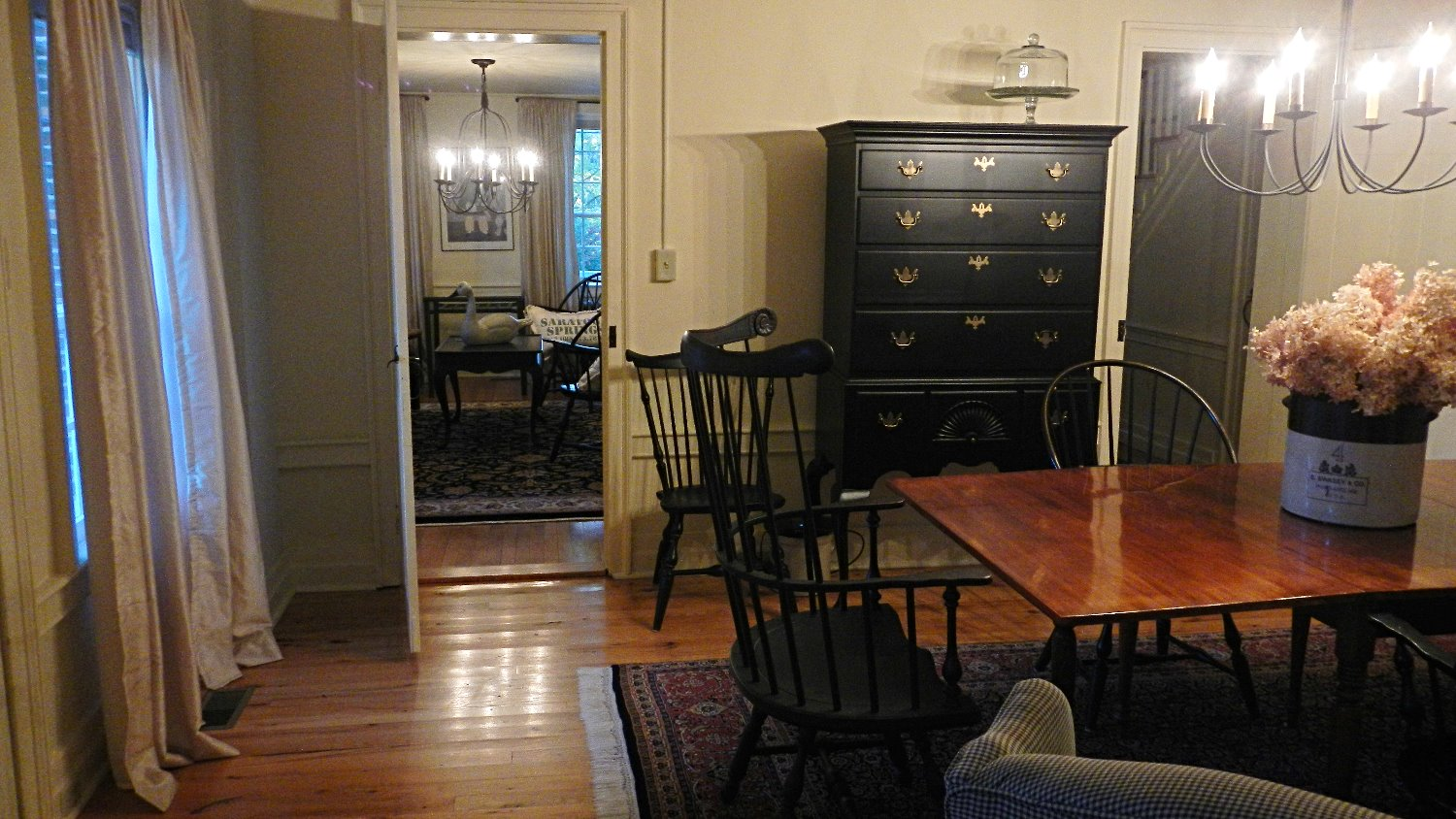 Dining and Guest Dining Area After