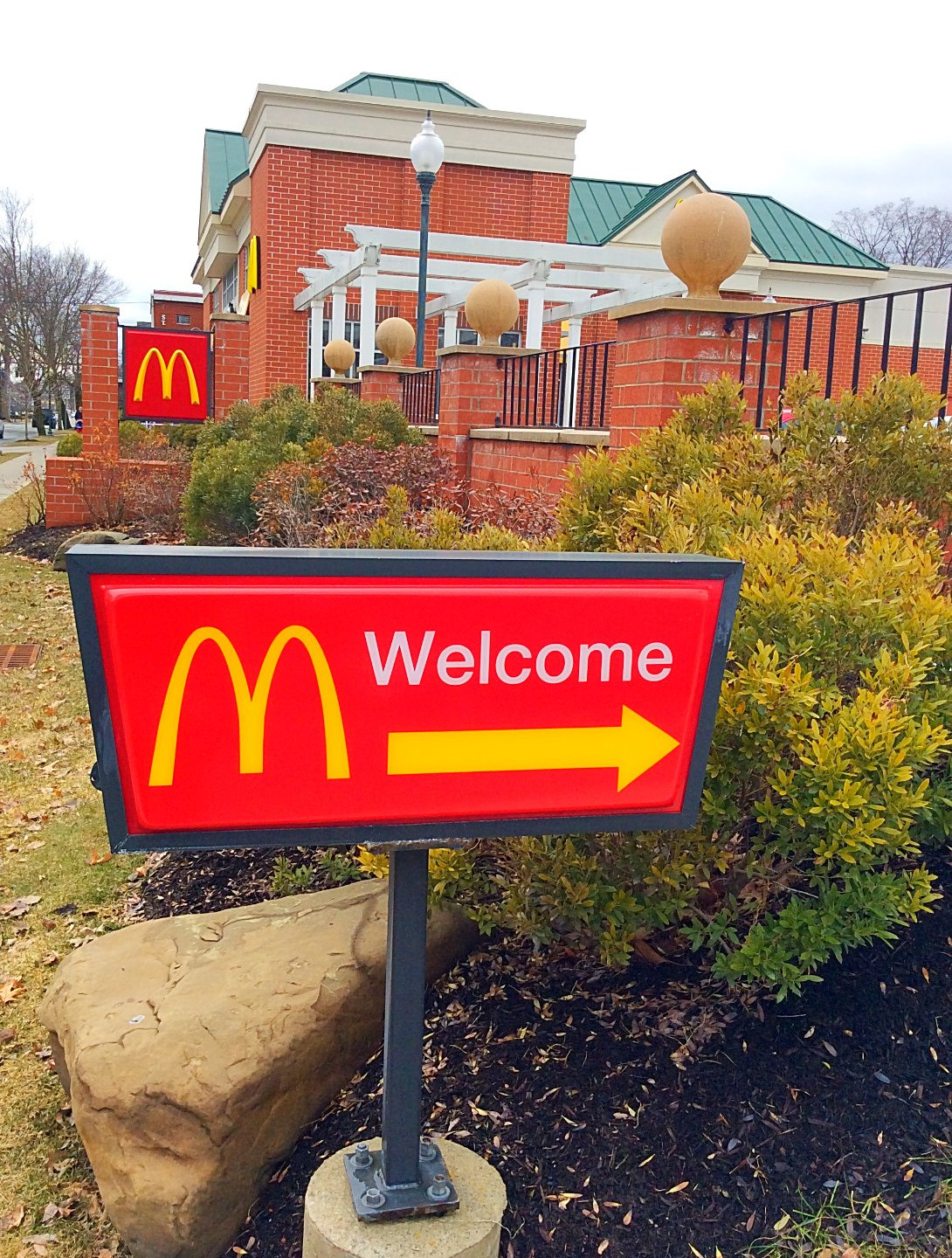 Welcome to McDonald's!