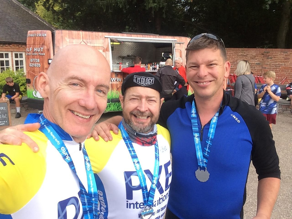 #TeamPXE at the North Derbyshire Challenge Sportive