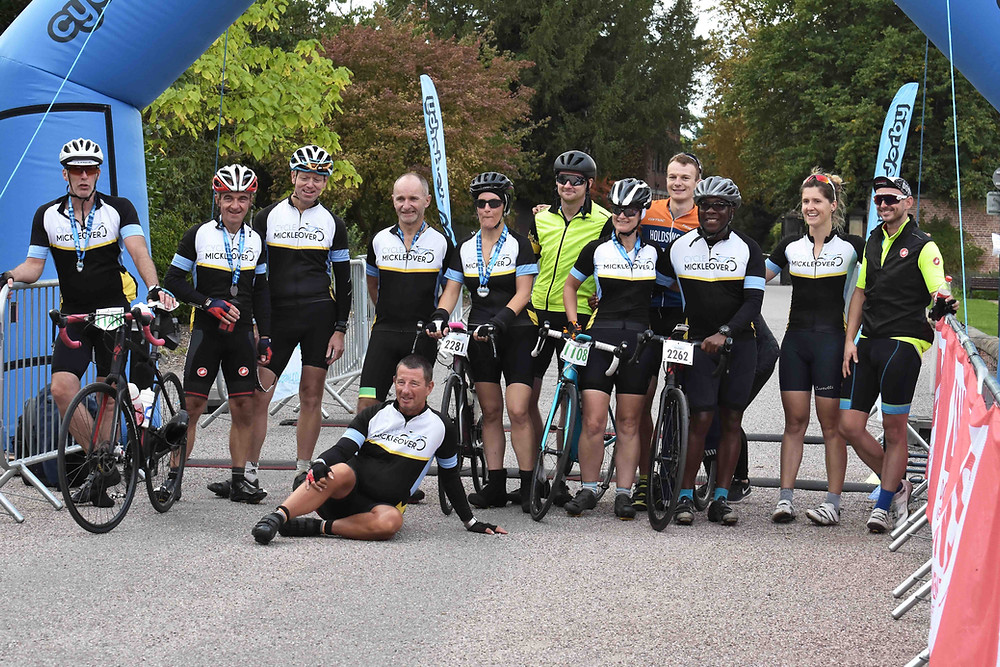 Cycle Mickleover at the North Derbyshire Challenge sportive 2018
