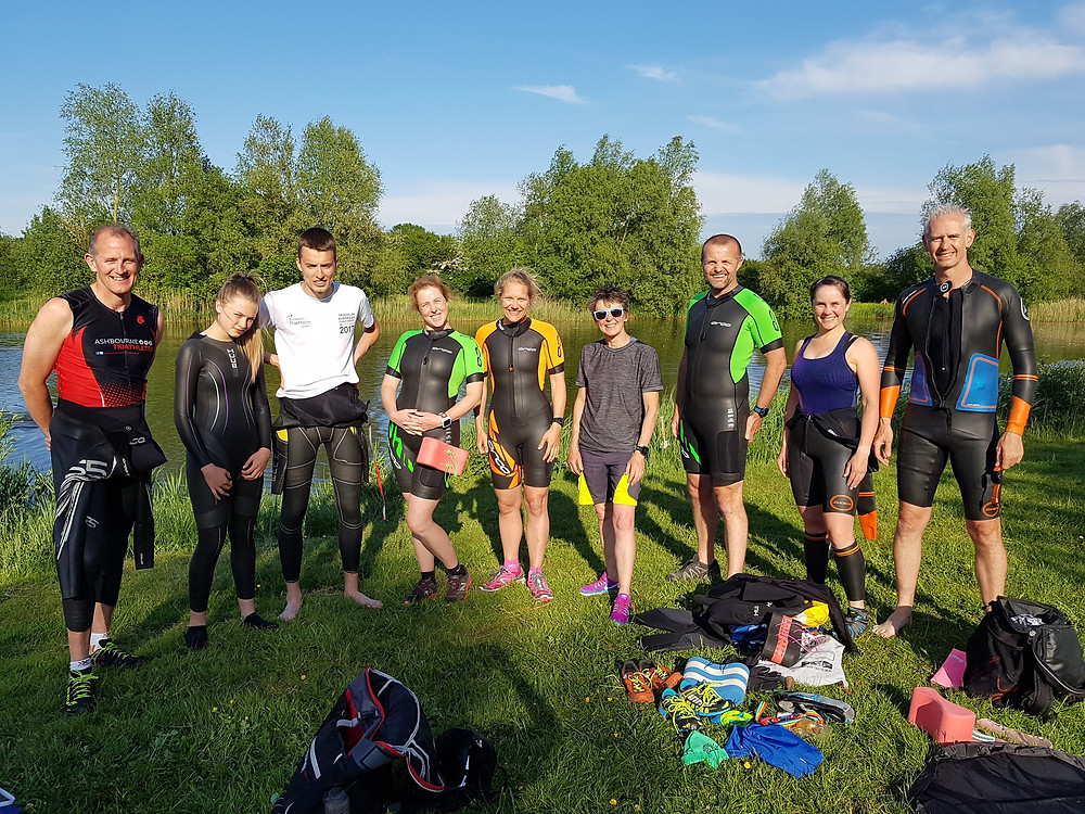 Swimrunners at The Lavender Patch
