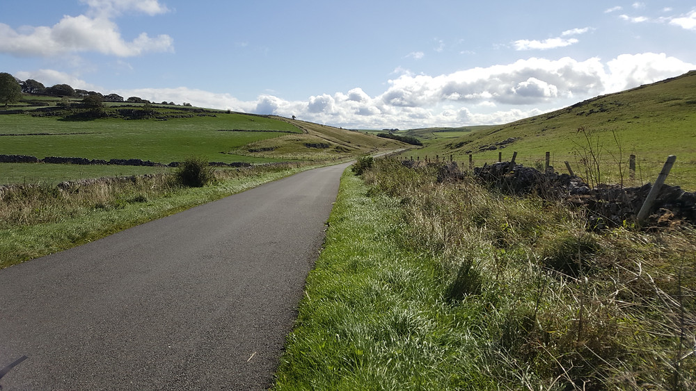 The Open Road, Derbyshire countryside