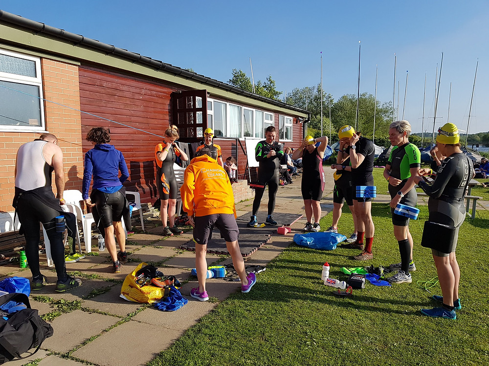 Kit demonstration at Harthill Reservoir