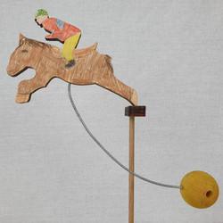 Balancing Horse