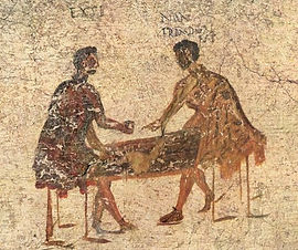 Fresco - Romans playing dice.jpg